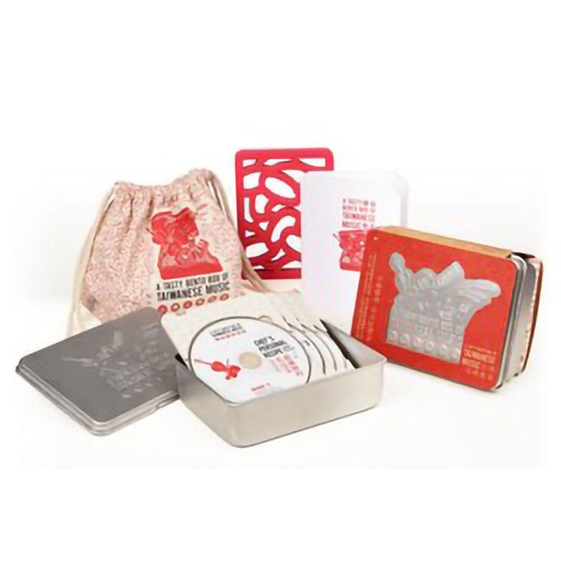 台灣音樂便當盒 4CD